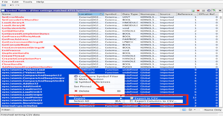 Lst2x64dbg : Extract Labels From IDA .lst or Ghidra .csv File & Export x64dbg Database