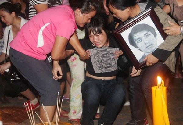 Người nhà một thủy thủ Trung Quốc bị sát hại