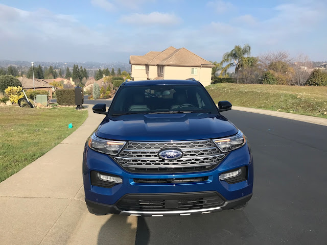 Front view of 2020 Ford Explorer Limited Hybrid