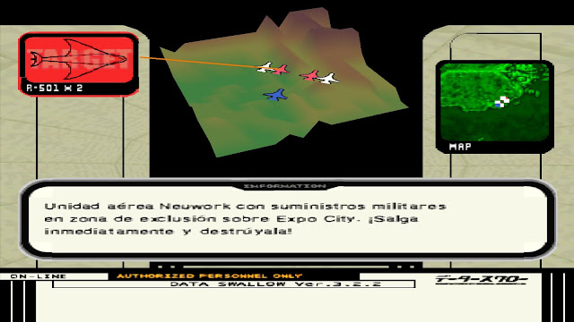 Ace Combat 3: Electrosphere Captura 3