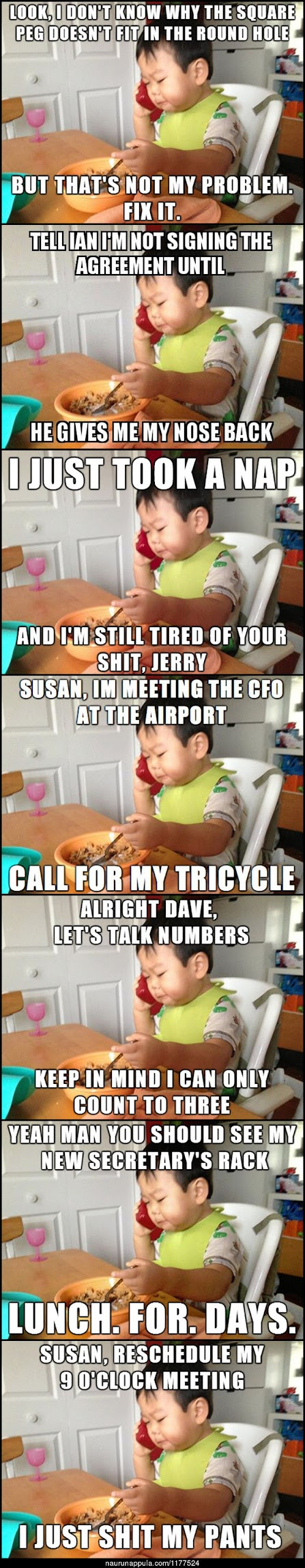 Funny Toddler CEO Collection