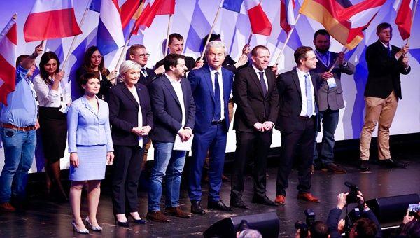 Ultraderechistas europeos se congregan en Coblenza, Alemania