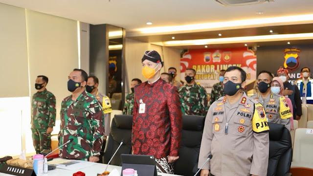 Cegah Covid 19, Polda Jateng Siap Laksanakan Operasi Ketupat Candi 2021