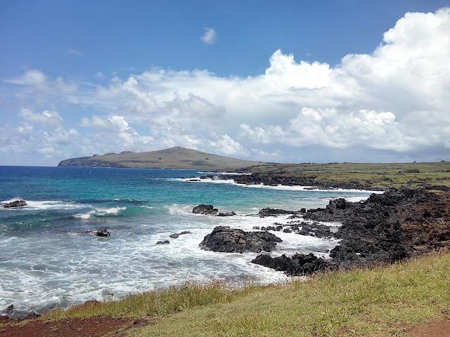 Playa de Ovahe, Isla de Pascua
