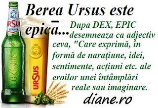 EPIC la reclama Ursus: Cum se mai deformează limba română