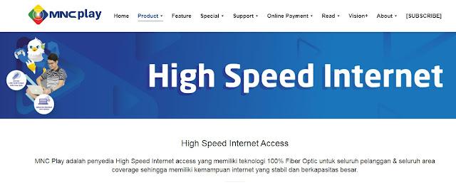 Daftar Provider Internet Wifi Rumah Terbaik, mnc play,