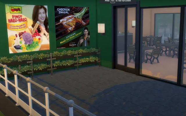 Sims 4 Pinoy Stuff Pack Mang Inasal Posters