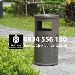 Thùng đựng rác để ngoài trời cao cấp - Nhà thầu Phúc Hòa - Hà Nội