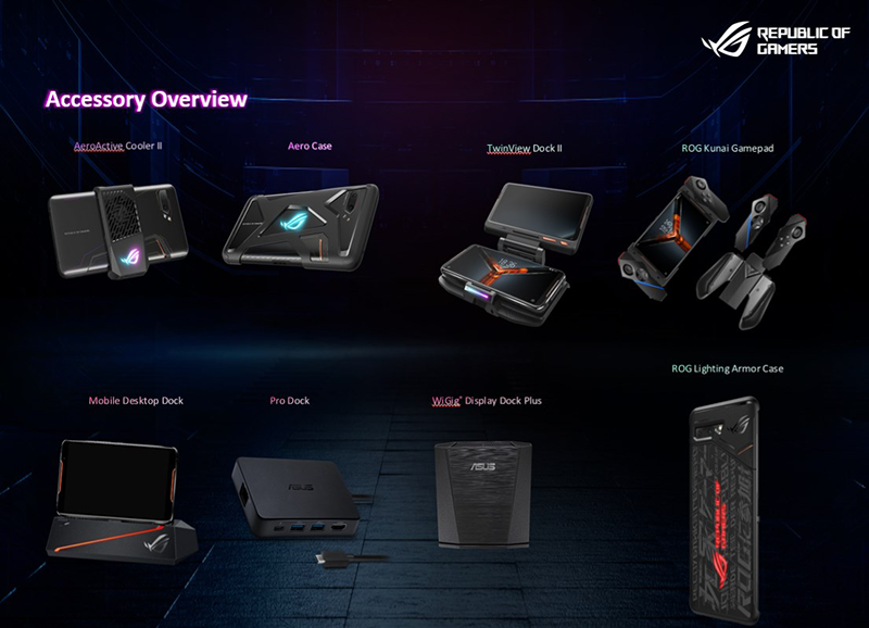 The gaming accessories