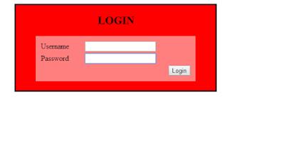 form login dengan javascript