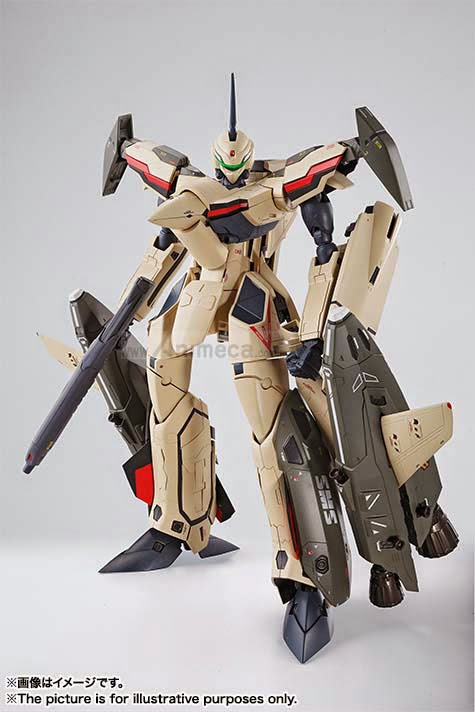 DX CHOGOKIN VF-19 ADVANCE FIGURE Macross Frontier The Movie Sayonara no Tsubasa BANDAI