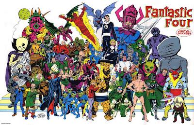 John Byrne Fantastic Four poster
