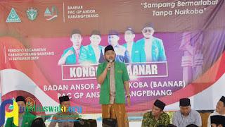 GP Ansor Sampang Ajak Masyarakat Lawan Narkoba