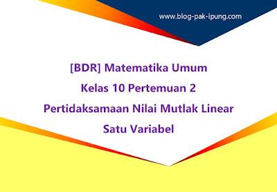 Matematika Umum Kelas 10