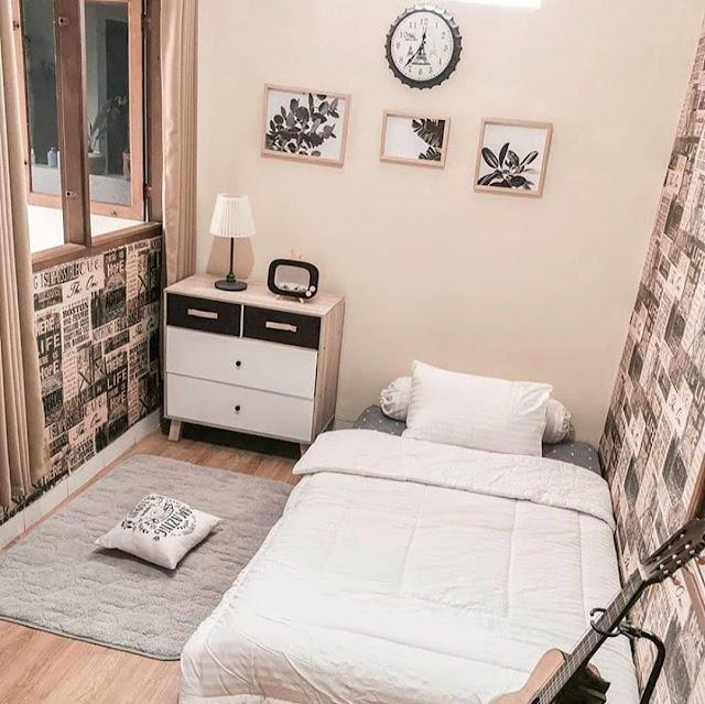 Desain Kamar Tidur Minimalis Untuk Ruangan Sempit