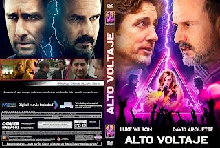 CARATULA HOLLOW BODY - ALTO VOLTAJE 2018 [ COVER DVD]