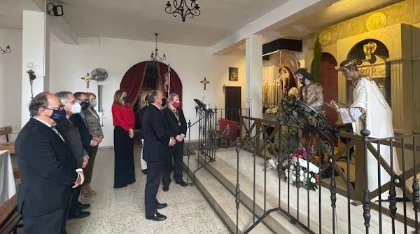 El alcalde valora el gran éxito de la muestra cofrade «La pasión según Algeciras»