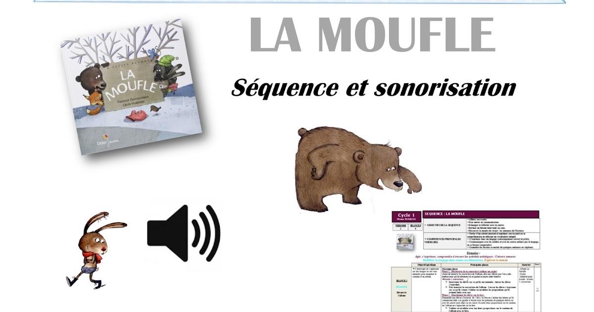 Coloriage Album La Moufle