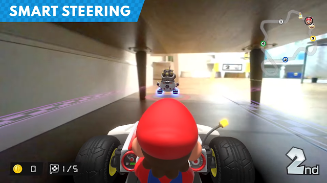 Mario Kart Live Home Circuit smart steering antenna