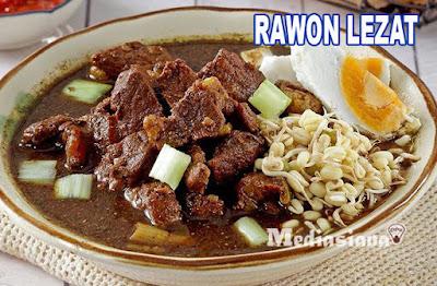 Resep Rawon lezat enak