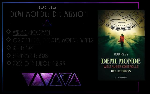 [Rezension] Demi Monde - Welt außer Kontrolle: Die Mission - Rod Rees