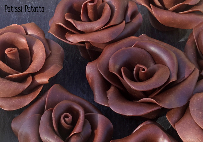 Patissi Patatta Chocolat Plastique