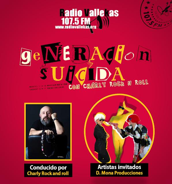 D. Mona na Rádio Vallekas de Madrid!
