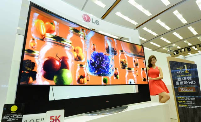 3547d18a9bc Worldwide Tech   Science  LG launches 105 inch Curved Ultra HD TV ...