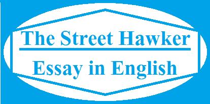 street hawker essay in 100 words