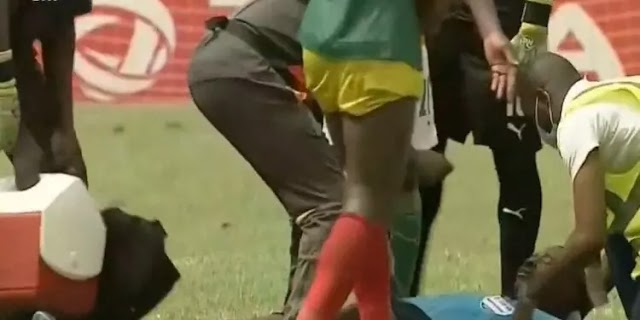 Ghanaian referee collapses while officiating Ivory Coast-Ethiopia AFCON qualifier