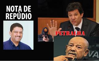GCM Carlinhos Silva emite Nota de Repúdio a manifestação do Prefeito do Município de São Paulo, Sr. Fernando Haddad, e do Secretário Municipal de Segurança Urbana, Sr. Benedito Mariano