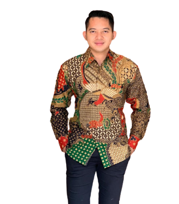 Kemeja Batik Pria Solo Lengan Panjang KBP 04