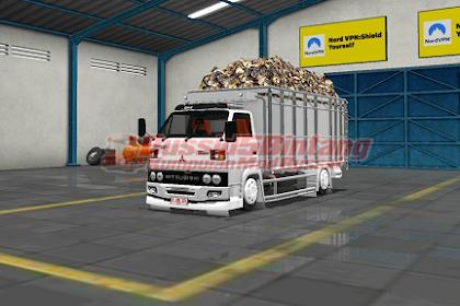 Mod Bussid Truck Colt dissel 120 PS Muatan sawit