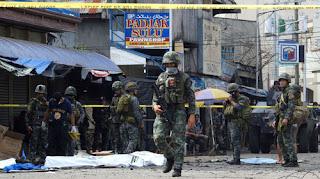 عاجل: متطرفون إسلاميون يشنون هجوما بالقنابل بالقرب من كاتدرائية في الفلبين ويصيبون 14شخصا