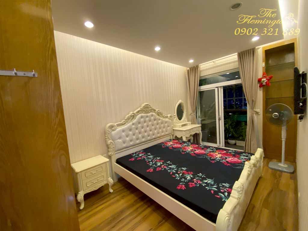 Chung cư The Flemington Lê Đại Hành   Hình phòng ngủ có giường