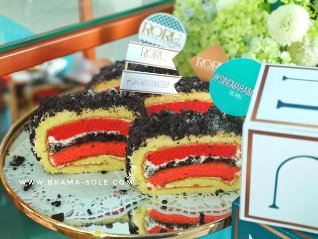 Oreo Red Velvet Roru Cake