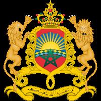 Logo Gambar Lambang Simbol Negara Maroko PNG JPG ukuran 200 px