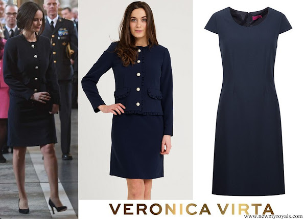 Princess Sofia VERONICA VIRTA Rosie jacket and Rosie dress
