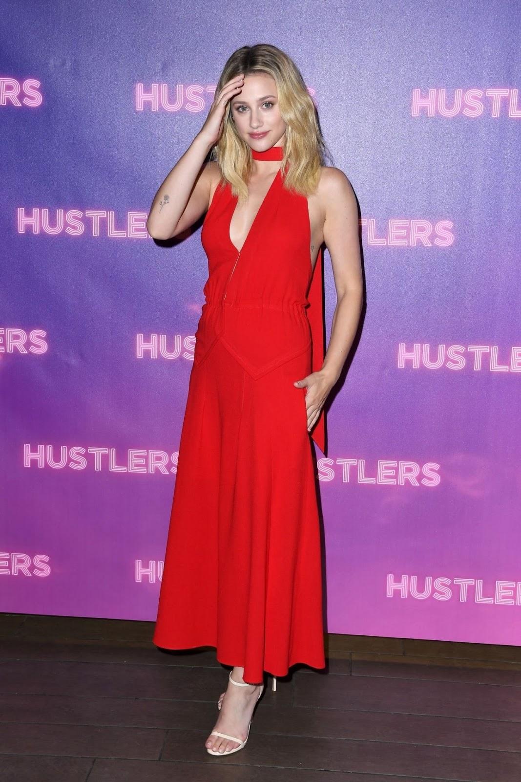 "Lili Reinhart – ""Hustlers"" Photocall in Beverly Hills"