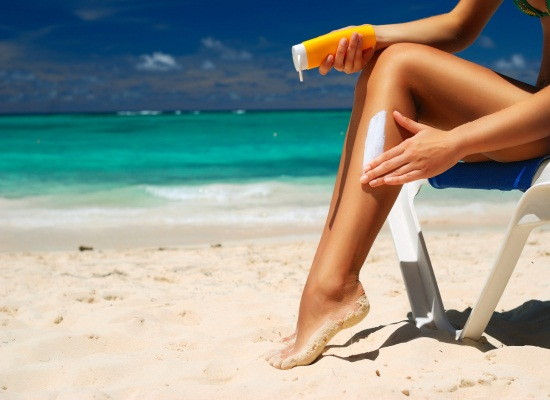 Use Creams or Gels for Sun burn Protection