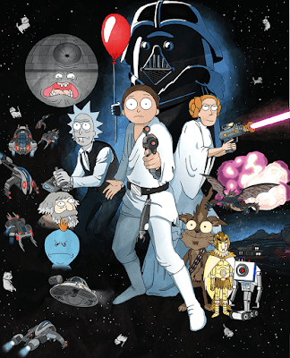 Rick e Morty Fan Art