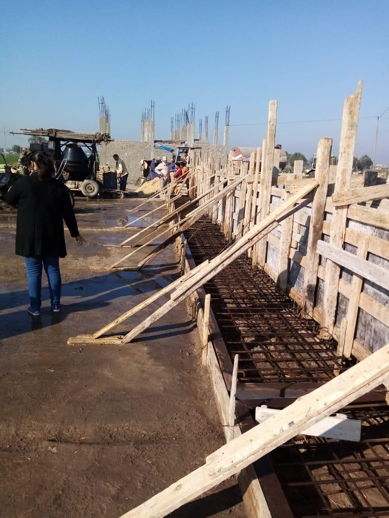 الانتهاء من انشاء محطة تغذية ترعة شاكر وتشغيلها  ضمن محطات الخلط الوسيط الجاري انشاؤها بنطاق المحافظة