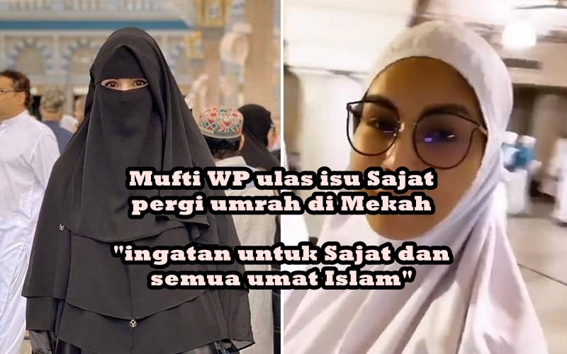 Mufti WP ulas isu Sajat pergi umrah