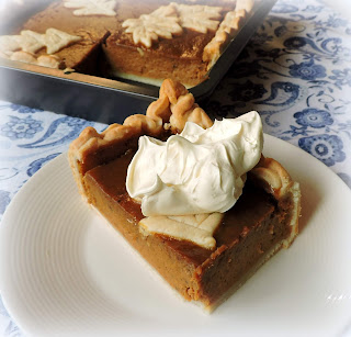 Sheet Pan Pumpkin Pie