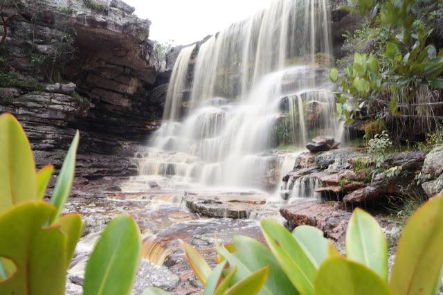 Cachoeira do Ramalho por cima. Foto: Ennio Santana