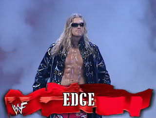 WWE / WWF No Mercy 2001 - Edge faced Christian in an Intercontinental title ladder match