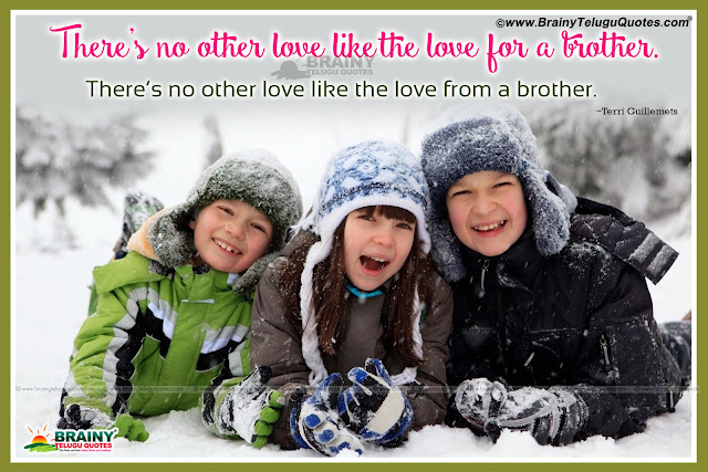 Brother and Sister Quotes in English, Relationship Value Quotes in English