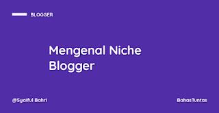 Mengenal Apa Itu Niche di Dunia Blogging