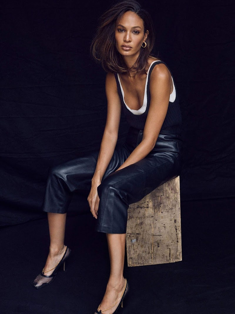 Joan Smalls in The Edit by Net-a-porter- September 2019