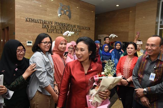 Menteri P3A Ingatkan Jangan Ada Korupsi dan Kerja Monoton